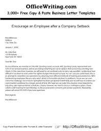 Unique Encourage An Employee After A Pany Setback Ficewriting