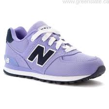 new balance girls. shop cheap canada girls\u0027 shoes athletic-inspired - new balance kl574 ice violet girls