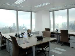 the office centre. picture the office centre w