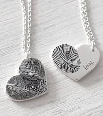 personalized fingerprint necklace for mom mother s day gift ideas fingerprint necklace diy gifts for mom mom