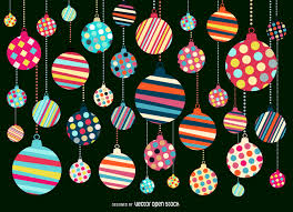 Christmas Pattern Background Fascinating Christmas Ornament Pattern Background Design Vector Download