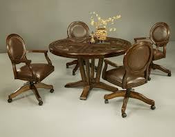 furniture dining room chairs on wheels with finest kitchen agreeable chromcraft set leather near