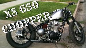 hardtail xs650 bobber yamaha chopper youtube