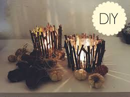 Diy Candle Holders Diy Wood Candle Holders Youtube