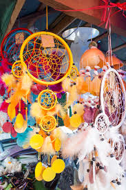 What Store Sells Dream Catchers Colorful Dream Catchers Hanging In Shop For Sale Stock Image 26
