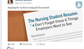 The Nursing Student Resume: Don't Forget These 6 Things Employers Want to  See
