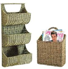 wall basket storage wall storage baskets wall storage baskets wall basket storage 3 basket wall storage