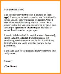 Apologize Business Letter 9 10 Business Letter Apology For Delay Loginnelkriver Com