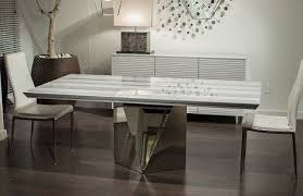 Riverton Stainless Steel Top Dining Room Table Set By Standard And Stainless Steel Top Dining Table
