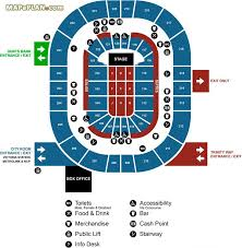 official phones4u entrances access box office locations manchester arena seating plan