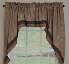 Park Designs Curtains And Valances Shades Of Brown Lined Swag By Park Designs Parking Design