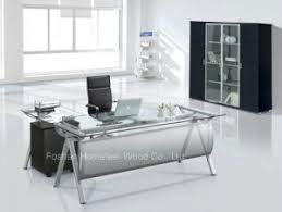 contemporary office desk glass. simple desk modern design office desk with glass top furniture hfg0010 throughout contemporary