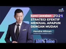 Try the suggestions below or type a new query above. Kunci Jawaban Exam Skill Academy Strategi Efektif Menjual Apapun Dengan Mudah Terbaru 2021 Youtube