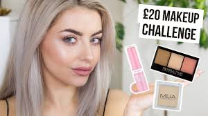 20 makeup challenge full face for under 20 i week i cocochic