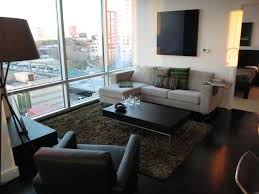 furniture for condo living. living room with condo furniture for d