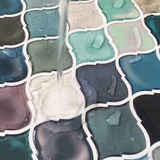 self adhesive tiles l and stick tile backsplash for kitchen bathroom
