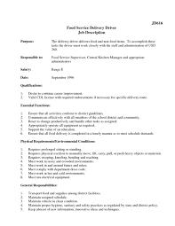 Jd Templates Truck Driver Job Description Responsibilities Yun56 Co