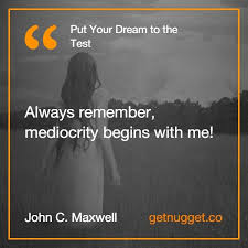 Image result for Put your dream to the test