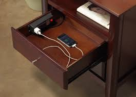 good nightstand with charging station 14 for interior decor home