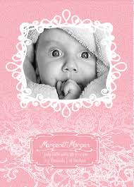 Template For Birth Announcement Free Photoshop And Vector Baby Announcement Templates On Behance