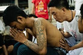 магические татуировки сак янт в таиланде где и как сделать