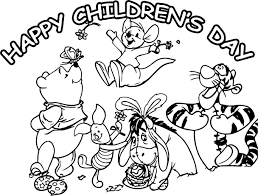Happy Childrens Day Animal Kingdom Graphic For Share On Facebook