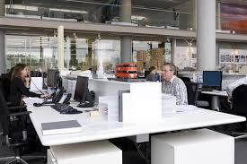 Norman foster office Model Foster Partners Desk Commercial Interior Design Foster Partners Desks London Office Refurbishment Earchitect