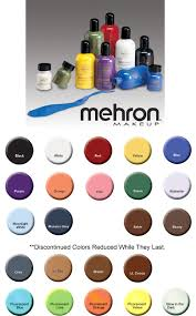 mehron liquid makeup for face body and hair