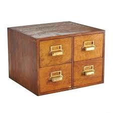 four drawer oak card catalog cabinet orange filing ikea storage