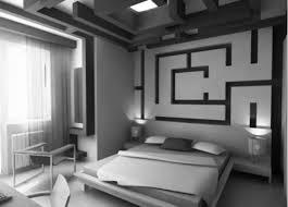 Modern Black And White Bedroom Bedroom Modern Bedroom Design Bed Minimalism Modest Bookshelf