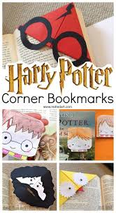 harry potter corner bookmarks how to