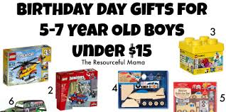 Birthday Gifts For 5 7 Year Old Boys Under 15 The Gift Ideas Five Boy - Eskayalitim