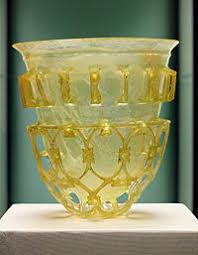 Стекло Википедия Диатрета Вторая половина iv века Стекло Государственное античное собрание