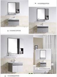 bination stainless steel bathroom cabinet vanity bathroom sinks bathroom furniture ceramic basin wash basin sink ez singapore