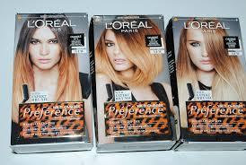l oreal preference wild ombres dip dye hair kit