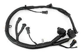 amazon com ficm engine fuel injector complete wire harness Ford OEM Wiring Harness ficm engine fuel injector complete wire harness replaces part 5c3z9d930a fits ford powerstroke
