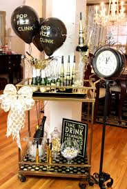 Appealing Dining Room In New Year Eve Party ...