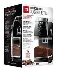 If you want to take a first step into a better burr grinder, chefman will not disappoint you, especially for its price. Chefman Coffee Grinder Electric Burr Mill Freshly 8oz