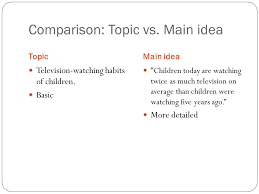 Finding The Main Idea From Study Island Ppt Video Online Download