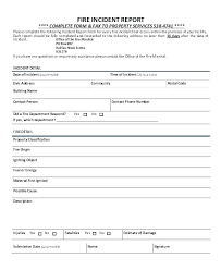 Employee Incident Report Template Free Injury Ohs Blank Rm