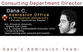 college essay admission consultant envision high