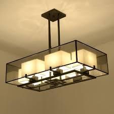 iron rectangular chandelier china rectangular chandelier led lamp 6 heads black wrought iron light home for