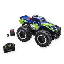 fast lane 1 8 scale remote control vehicle storm crusher 2 4 ghz blue