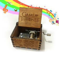 Engraved Wooden Music Box Game Of Thrones GAME OF THRONES Theme Box Engraved Wooden Music Box Crafts Kid 27