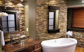 norstone natural shower stone veneer tub