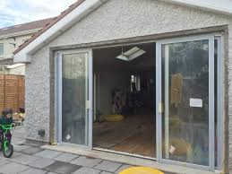 double glazed aluminium sliding doors