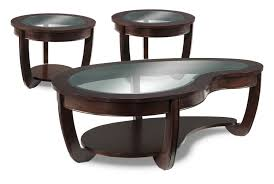 leons furniture bedroom sets http wwwleonsca:  kitson coffee table and two end tables cherry leons furniture  leons coffee and end tables