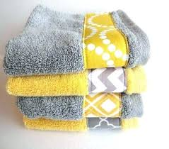 yellow and gray bath towel sets yellow and gray bathroom rug set of 4 grey bath towels by sets decorative