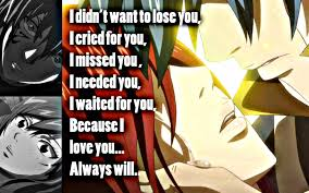 Fairy Tail Love Quotes Delectable Erza I Love You By Xelascarlet On DeviantArt