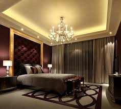 elegant bedroom wall designs. Elegant Bedroom Design With High Celling And Beautiful Decorative Lamp Wall Designs